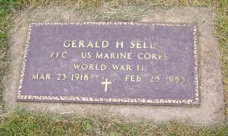 SELL, GERALD H. (MIL) - Stark County, Ohio | GERALD H. (MIL) SELL - Ohio Gravestone Photos