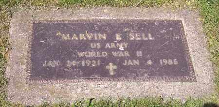 SELL, MARVIN E. (MIL) - Stark County, Ohio | MARVIN E. (MIL) SELL - Ohio Gravestone Photos
