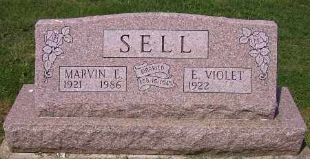 SELL, MARVIN E. - Stark County, Ohio | MARVIN E. SELL - Ohio Gravestone Photos
