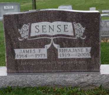 SENSE, JAMES F. - Stark County, Ohio | JAMES F. SENSE - Ohio Gravestone Photos