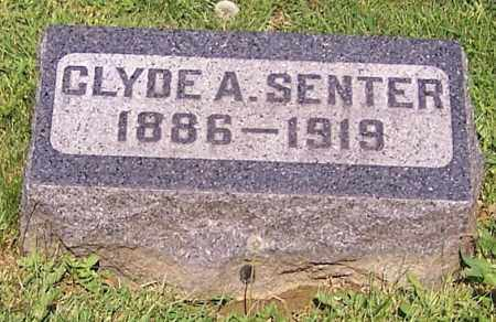 SENTER, CLYDE A. - Stark County, Ohio | CLYDE A. SENTER - Ohio Gravestone Photos