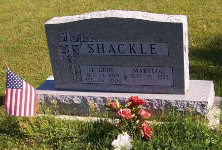 SHACKLE, H.GENE - Stark County, Ohio | H.GENE SHACKLE - Ohio Gravestone Photos