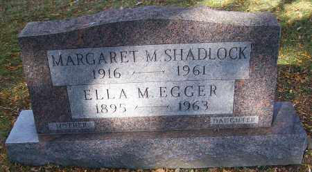SHADLOCK, MARGARET M. - Stark County, Ohio | MARGARET M. SHADLOCK - Ohio Gravestone Photos