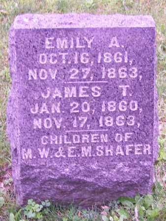 SHAFER, EMILY A. - Stark County, Ohio | EMILY A. SHAFER - Ohio Gravestone Photos