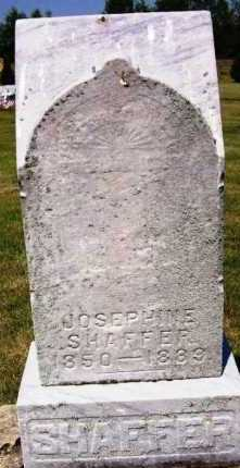 SHAFFER, JOSEPHINE - Stark County, Ohio | JOSEPHINE SHAFFER - Ohio Gravestone Photos