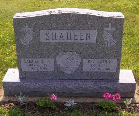 SHAHEEN, RUTH N.  (REV) - Stark County, Ohio | RUTH N.  (REV) SHAHEEN - Ohio Gravestone Photos