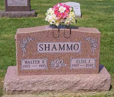 SHAMMO, ELSIE E. - Stark County, Ohio | ELSIE E. SHAMMO - Ohio Gravestone Photos