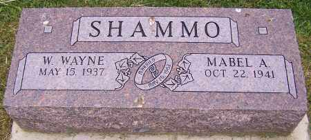 SHAMMO, MABEL A. - Stark County, Ohio | MABEL A. SHAMMO - Ohio Gravestone Photos