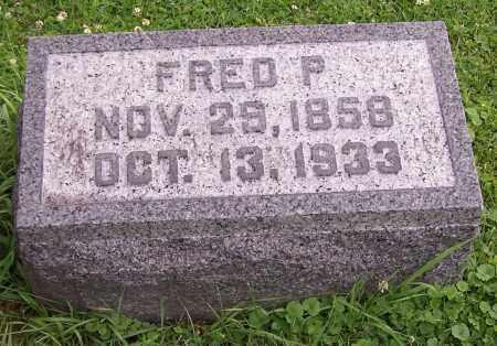 SHANAFELT, FRED P. - Stark County, Ohio | FRED P. SHANAFELT - Ohio Gravestone Photos