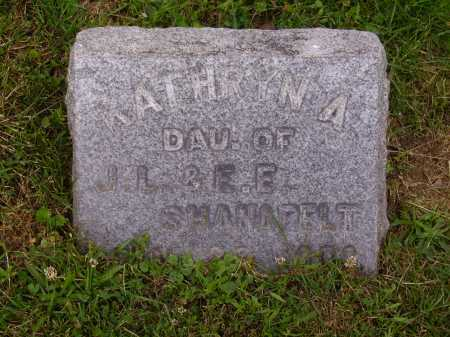 SHANAFELT, KATHRYNA - Stark County, Ohio | KATHRYNA SHANAFELT - Ohio Gravestone Photos