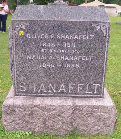 SHANAFELT, MAHALA - Stark County, Ohio | MAHALA SHANAFELT - Ohio Gravestone Photos