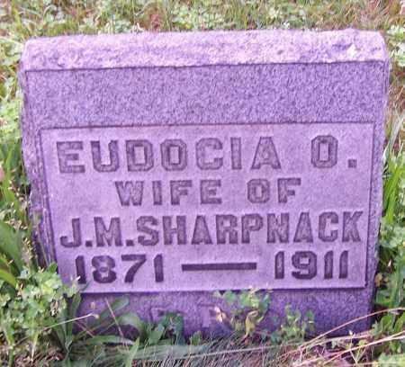 SHARPNACK, EUDOCIA O. - Stark County, Ohio | EUDOCIA O. SHARPNACK - Ohio Gravestone Photos