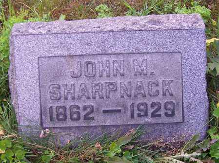 SHARPNACK, JOHN M. - Stark County, Ohio | JOHN M. SHARPNACK - Ohio Gravestone Photos
