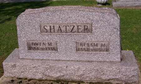 SHATZER, BESSIE M. - Stark County, Ohio | BESSIE M. SHATZER - Ohio Gravestone Photos
