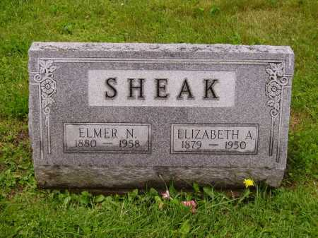 SHEAK, ELMER N. - Stark County, Ohio | ELMER N. SHEAK - Ohio Gravestone Photos