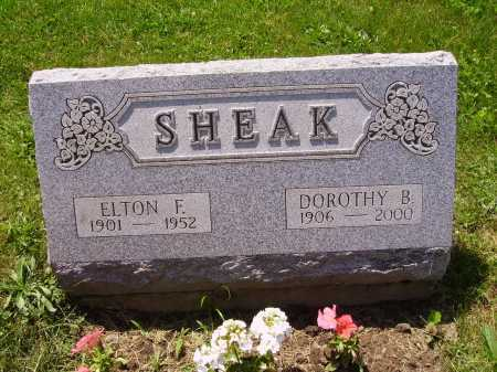 SHEAK, ELTON E. - Stark County, Ohio | ELTON E. SHEAK - Ohio Gravestone Photos