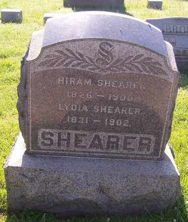 SHEARER, LYDIA - Stark County, Ohio | LYDIA SHEARER - Ohio Gravestone Photos