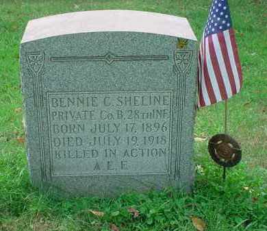 SHELINE, BENNIE C - Stark County, Ohio   BENNIE C SHELINE - Ohio Gravestone Photos