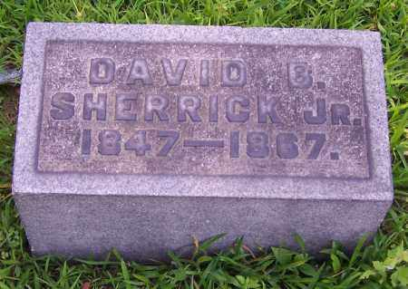 SHERRICK, DAVID B.  (JR) - Stark County, Ohio | DAVID B.  (JR) SHERRICK - Ohio Gravestone Photos