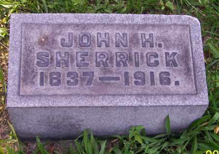 SHERRICK, JOHN H. - Stark County, Ohio | JOHN H. SHERRICK - Ohio Gravestone Photos