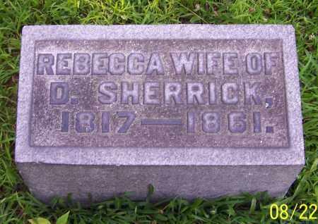 SHERRICK, REBECCA - Stark County, Ohio | REBECCA SHERRICK - Ohio Gravestone Photos