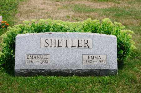 SHETLER, EMMA - Stark County, Ohio | EMMA SHETLER - Ohio Gravestone Photos
