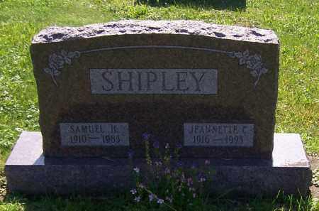 SHIPLEY, SAMUEL H. - Stark County, Ohio | SAMUEL H. SHIPLEY - Ohio Gravestone Photos