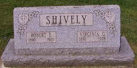 SHIVELY, ROBERT E. - Stark County, Ohio | ROBERT E. SHIVELY - Ohio Gravestone Photos