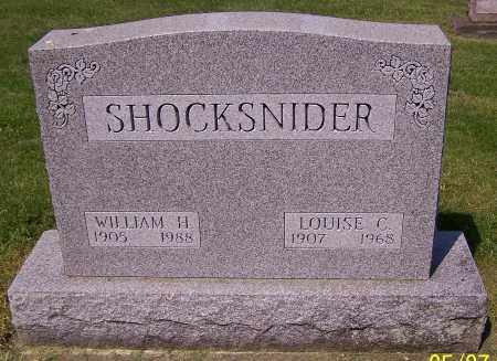 SHOCKSNIDER, LOUISE C. - Stark County, Ohio | LOUISE C. SHOCKSNIDER - Ohio Gravestone Photos