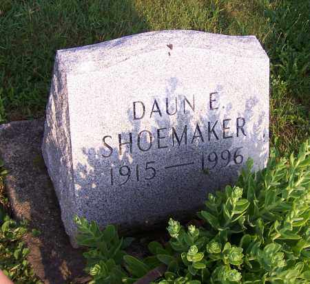 SHOEMAKER, DAUN E. - Stark County, Ohio | DAUN E. SHOEMAKER - Ohio Gravestone Photos