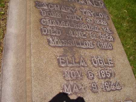 SHOEMAKER, ELLA - Stark County, Ohio | ELLA SHOEMAKER - Ohio Gravestone Photos