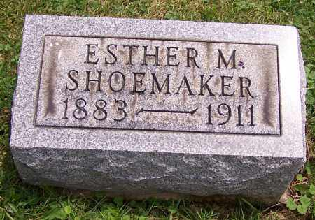 SHOEMAKER, ESTHER M. - Stark County, Ohio | ESTHER M. SHOEMAKER - Ohio Gravestone Photos
