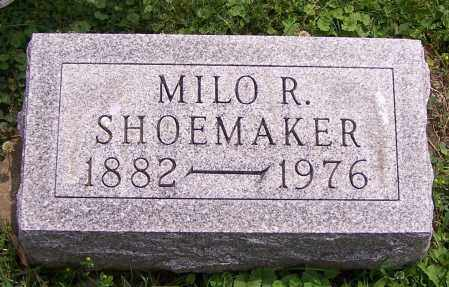 SHOEMAKER, MILO R. - Stark County, Ohio | MILO R. SHOEMAKER - Ohio Gravestone Photos