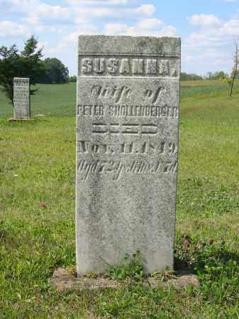 SHOLLENBERGER, SUSANNA - Stark County, Ohio | SUSANNA SHOLLENBERGER - Ohio Gravestone Photos