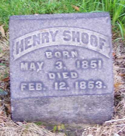 SHOOF, HENRY - Stark County, Ohio | HENRY SHOOF - Ohio Gravestone Photos