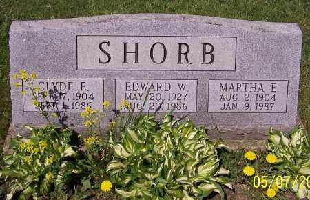 SHORB, CLYDE E. - Stark County, Ohio | CLYDE E. SHORB - Ohio Gravestone Photos