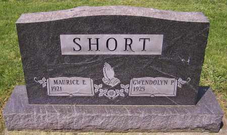 SHORT, MAURICE E. - Stark County, Ohio | MAURICE E. SHORT - Ohio Gravestone Photos