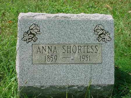 SHORTESS, ANNA - Stark County, Ohio | ANNA SHORTESS - Ohio Gravestone Photos