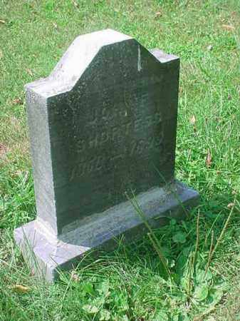 SHORTESS, JOHN F - Stark County, Ohio | JOHN F SHORTESS - Ohio Gravestone Photos