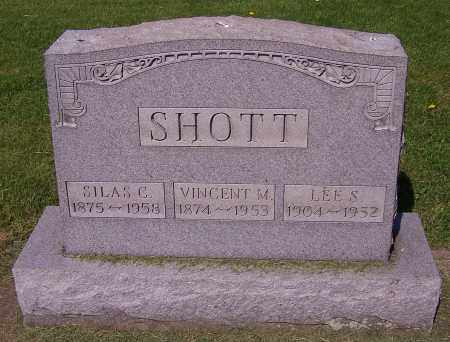 SHOTT, SILAS C. - Stark County, Ohio | SILAS C. SHOTT - Ohio Gravestone Photos