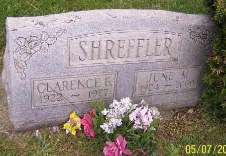 SHREFFLER, CLARENCE E. - Stark County, Ohio | CLARENCE E. SHREFFLER - Ohio Gravestone Photos