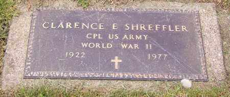 SHREFFLER, CLARENCE E. - Stark County, Ohio   CLARENCE E. SHREFFLER - Ohio Gravestone Photos
