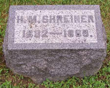 SHREINER, H.M. - Stark County, Ohio | H.M. SHREINER - Ohio Gravestone Photos