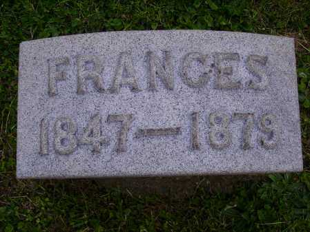SHRIVER, FRANCES - Stark County, Ohio | FRANCES SHRIVER - Ohio Gravestone Photos