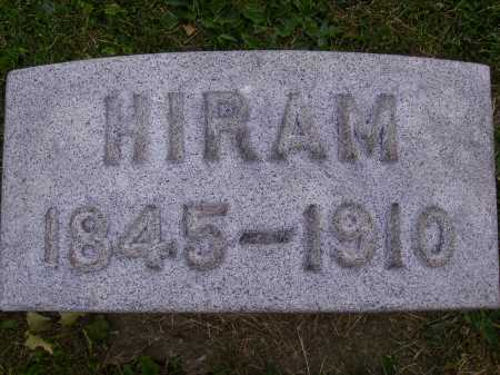 SHRIVER, HIRAM - Stark County, Ohio | HIRAM SHRIVER - Ohio Gravestone Photos