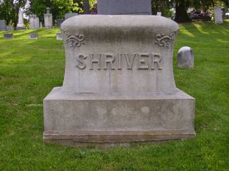 SHRIVER, MONUMENT - Stark County, Ohio | MONUMENT SHRIVER - Ohio Gravestone Photos