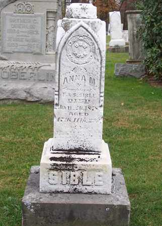 SIBLE, ANNA M. - Stark County, Ohio | ANNA M. SIBLE - Ohio Gravestone Photos