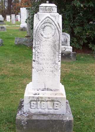 SIBLE, REBECCA S. - Stark County, Ohio   REBECCA S. SIBLE - Ohio Gravestone Photos