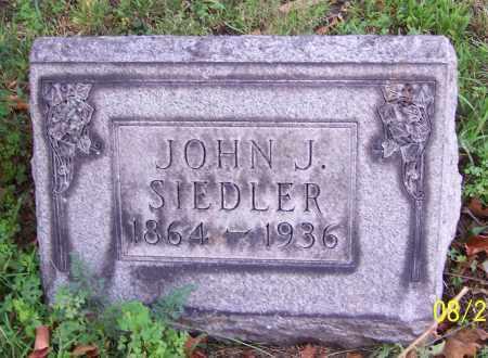 SIEDLER, JOHN J. - Stark County, Ohio | JOHN J. SIEDLER - Ohio Gravestone Photos