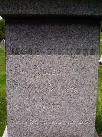 SIMMONS, JACOB - Stark County, Ohio | JACOB SIMMONS - Ohio Gravestone Photos